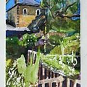 Napa Valley Winery In June Poster