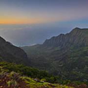 Napali Coastline Kauai Poster