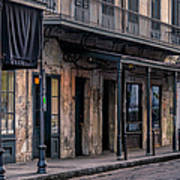 Napoleon House In French Quarter Poster