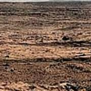 Nasa Mars Panorama From The Mars Rover Poster