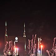 Nashville Fireworks 2014 Close Up Poster