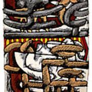 Nassau Junkanoo 2 Poster by Philip Slagter