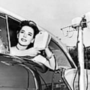 Natalie Wood At A Drive-in Poster
