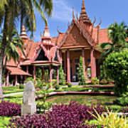 National Museum In Phnom Penh Poster