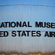 National Museum United States Air Force Poster
