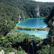 National Park Plitvice Poster