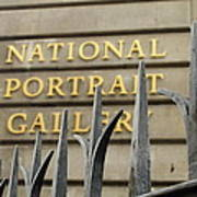 National Portrait Gallery Poster