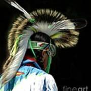 Native American Boy Poster