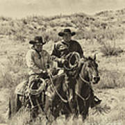 Native American Cowboys Poster