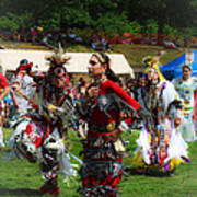 Native American Dancers Poster