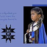 Native American Saying Poster