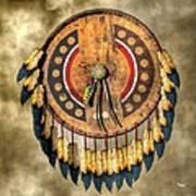 Native American Shield Poster