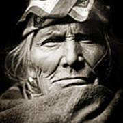 Native American Zuni -  Si Wa Wata Wa  Poster by Jennifer Rondinelli Reilly - Fine Art Photography