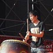 Native Drummer Performs In Taiwan Poster