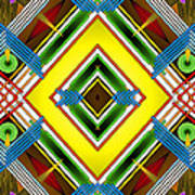 Native Weave Life Poster