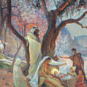 Nativity Poster by Frederic Montenard