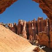 Natural Archway - Bryce Canyon Poster