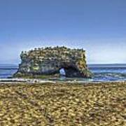 Natural Bridges And Lovers Poster