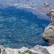 Natural Pool Of Seawater Poster