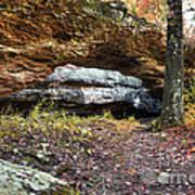 Natural Rock Bridge Poster