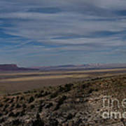 Natures Painted Desert Poster