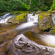 Nature's Water Slide Tilt Shift Poster
