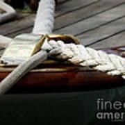 Nautical Textures Poster