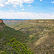 Navajo Canyon Overlook On Chapin Mesa Top Loop Road In Mesa Verde National Park-colorado Poster