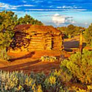 Navajo Hogan Canyon Dechelly Nps Poster