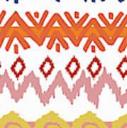 Southwest Pattern IIi Poster