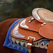 Navajo Silver And Basketweave Poster
