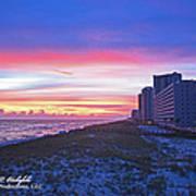Navarre Beach Fl 2013 10 30 I Poster
