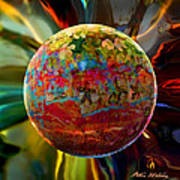 Na'vi Sphere Poster