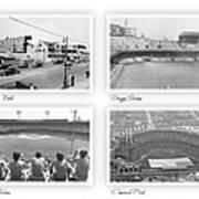 Navin Field Briggs Tiger Stadium Comerica Park Poster