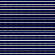 Navy Pinstripe 2 Poster
