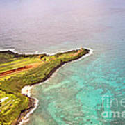 Nawiliwili Lighthouse - Aerial Poster