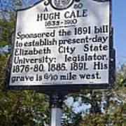 Nc-a80 Hugh Cale 1835-1910 Poster