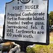 Nc-b2 Fort Huger Poster