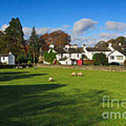 Near Sawrey In The Lake District Poster