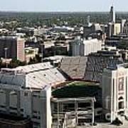 Nebraska Cornhuskers Stadium Lincoln Poster