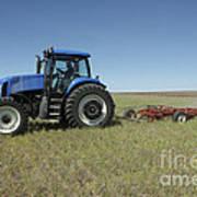 Nebraska Farming Poster