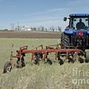 Nebraska Wheat Field Poster