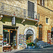Negozi Toscani Poster