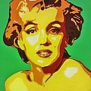 Neon Marilyn Monroe  Poster