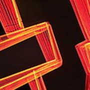 Neon Maze Poster