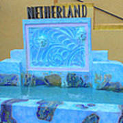 Netherland Fountain Poster