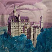 Neuschwanstein Castle  Poster by Metal Art Studio
