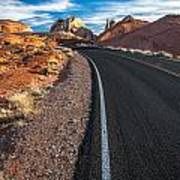 Nevada Highways Poster