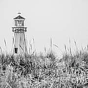 New Buffalo Lighthouse In Southwestern Michigan Poster