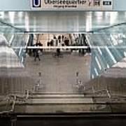 New Hafencity Station In Hamburg Poster